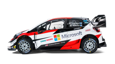 Toyota Yaris WRC - side