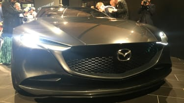 Mazda Vision Coupe concept - reveal full front