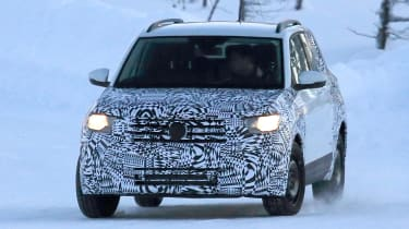 Volkswagen T-Cross - spy shot front