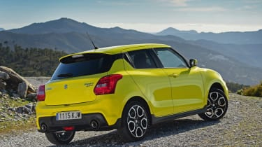 Suzuki Swift Sport - rear static