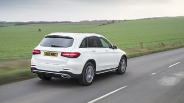 Mercedes GLC 250d 2016 - rear tracking