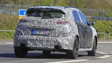 Hyundai Kona N spy - rear