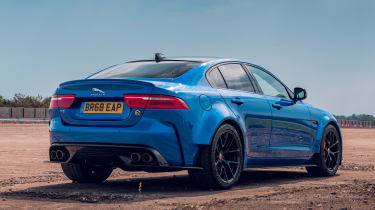 Jaguar XE Project 8 - static rear