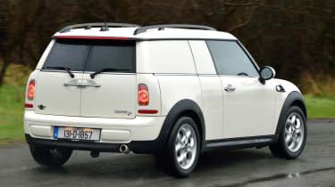 MINI Clubvan rear cornering