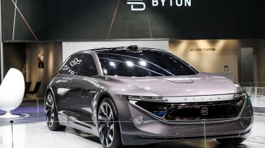 Byton K-Byte Concept - show stand