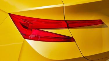 Skoda Vision iV concept - rear light