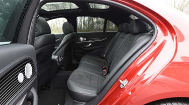 Mercedes E-Class E 220d AMG Line 2017 - rear seats