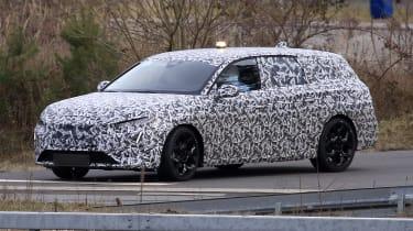 Peugeot 308 SW spy - front