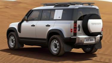 Alastair Crooks Land Rover Defender rear