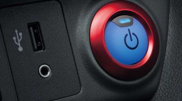 Nissan Leaf Nismo - power button