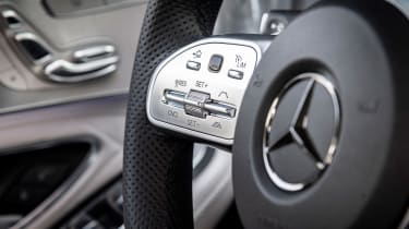 Mercedes C-Class - steering wheel