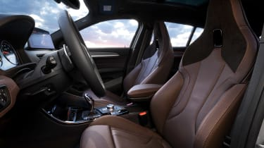 BMW X2 M Mesh Edition - front seats