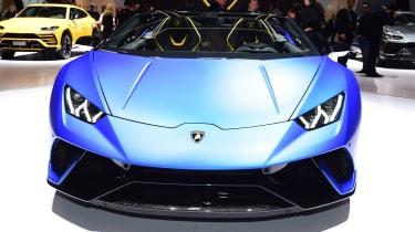 Lamborghini Huracan Performante Spyder head on