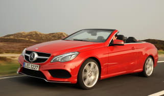 Mercedes E-Class Cabriolet front tracking