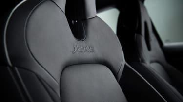 Nissan Juke - seat detail