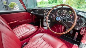 Aston Martin DB5 - interior