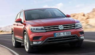 VW Tiguan front