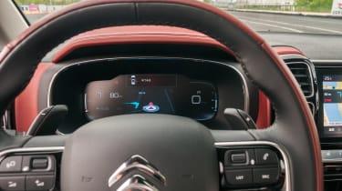 Citroen C5 Aircross - steering wheel