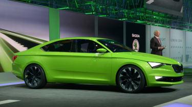 Skoda VisionC concept Geneva VW preview