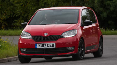 Skoda Citigo - best cars for less than £10 per day