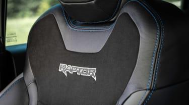 Ford Ranger Raptor - seat