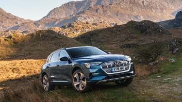 Audi e-tron - off-road static
