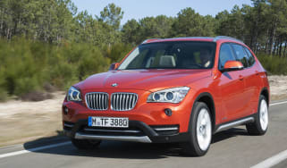 BMW X1 facelift front tracking