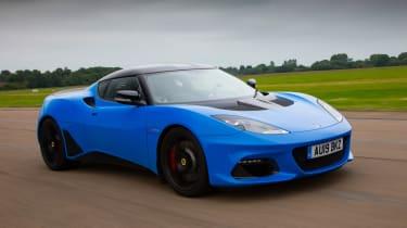Lotus Evora driving