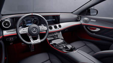 Mercedes-AMG E 53 4MATIC+ interior
