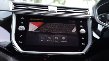 SEAT Ibiza - infotainment screen