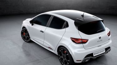 Renault Clio Renault Sport Trophy leaked pic