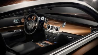 Rolls-Royce Wraith 'Inspired By Music' dash