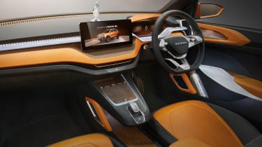 Skoda Vision IN concept - cabin
