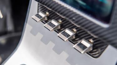 Jaguar E-Type Zero prototype - controls