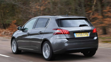 peugeot 308 tracking rear