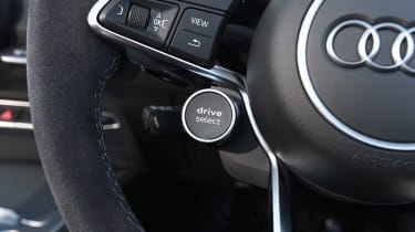 Audi TT RS Roadster - drive select button