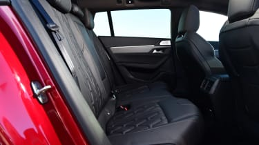 Peugeot 508 SW estate back seats