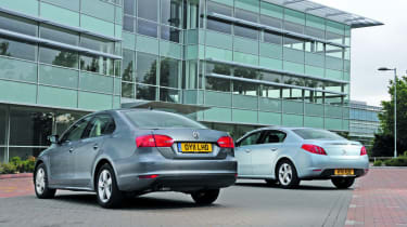 Peugeot 508 vs VW Jetta