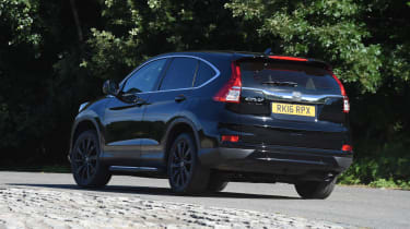 Honda CR-V Black Edition 2016 - rear cornering