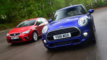 MINI Cooper vs SEAT Ibiza - head-to-head