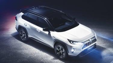 New Toyota RAV4 - above
