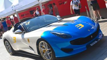 Ferrari SP3JC - front 3/4 static Goodwood 2019