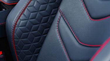 Aston Martin DBS Superleggera - seat detail