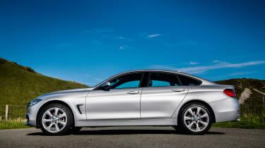 BMW 4 Series Gran Coupe 430d xDrive - profile