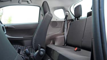 Toyota iQ rear seats
