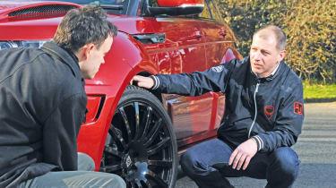 Prindiville Range Rover Evoque wheel detail