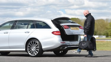 Mercedes E-Class Estate long term - first report boot open