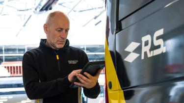 Renault Pro+ vans rear van