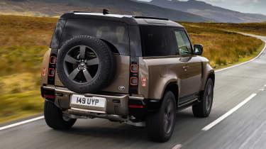 Land Rover Defender - rear