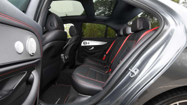 Mercedes-AMG E 53 - rear seats
